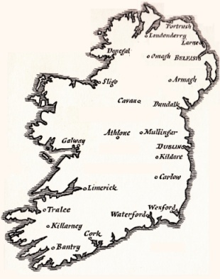 Ireland Map small